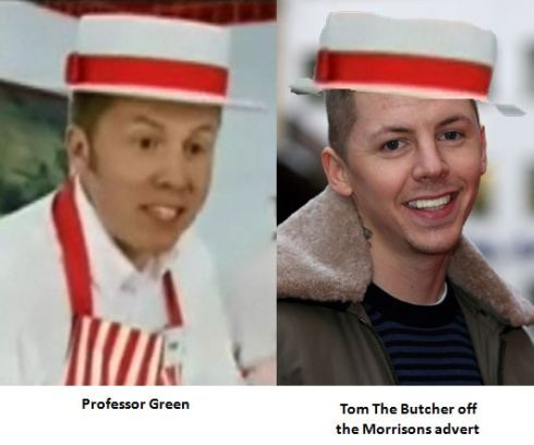 Professor Green Tom The Butcher