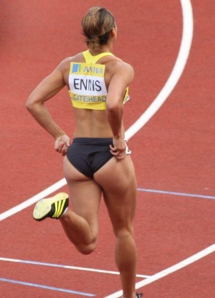 Jessica Ennis bum